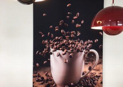 Akustikbild  Kaffeetasse