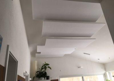 Akustik Deckensegel für den Wohnbereich